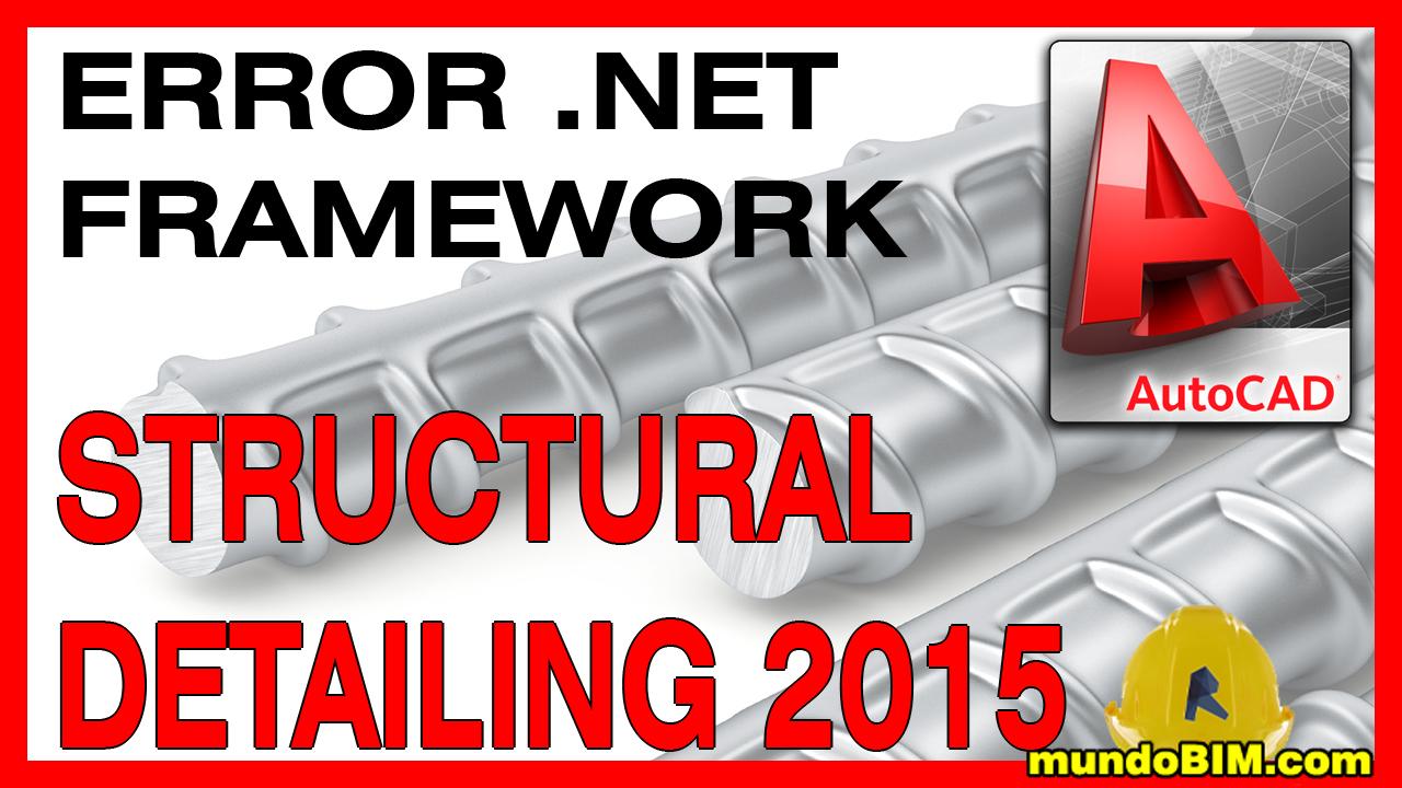 structural detailing 2015 .net framework