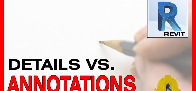 detail items annotations revit